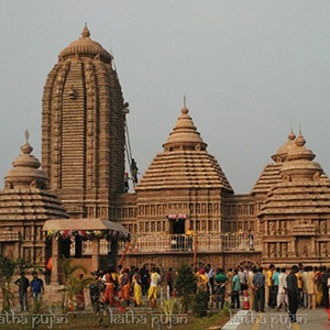 Puja in Jagannatha Temple  Puri
